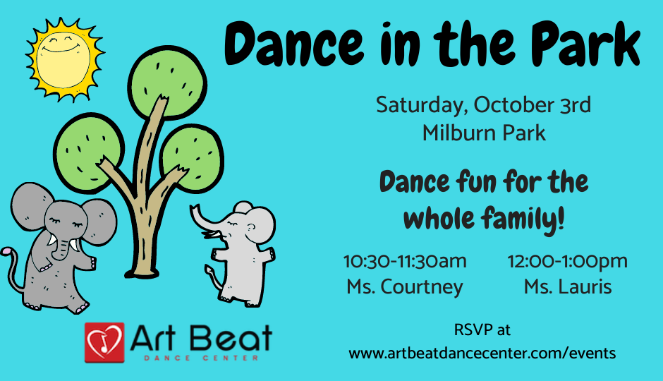 Dance in the Park with times