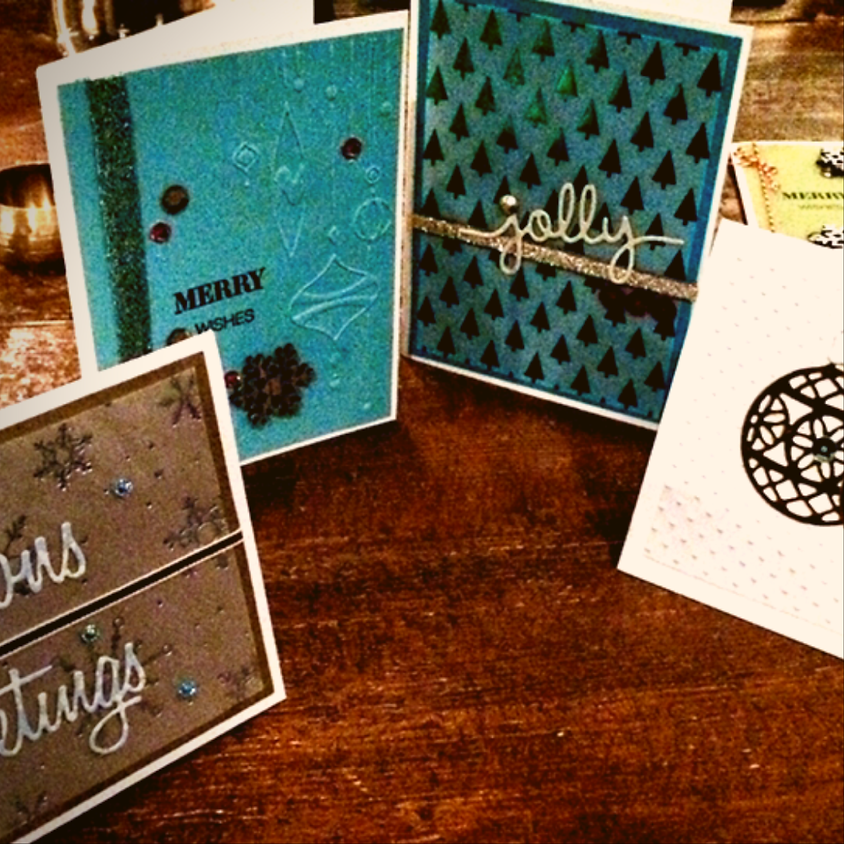 Handmade Holiday Social: Cardmaking and Cocktails