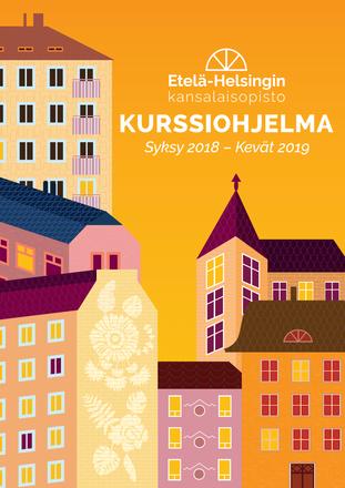 Etelä-Helsingin kansalaisopiston kurssiesite 2018
