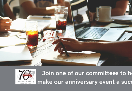 Volunteers Needed for 70th Anniversary Event Planning