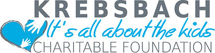 Krebsbach Charitable Foundation logo.  It's all about the kids.
