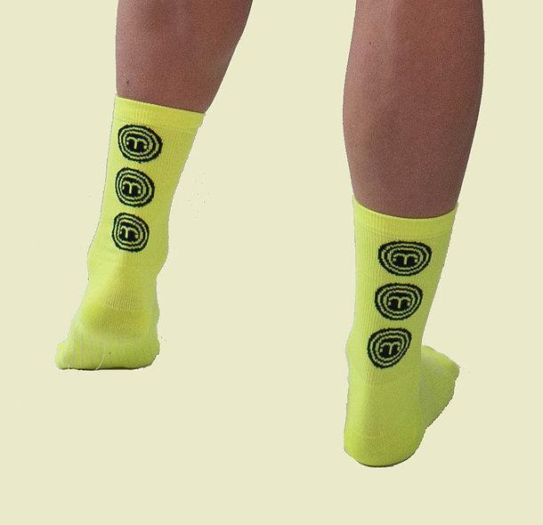 Moxie Socks - Moxie Yellow