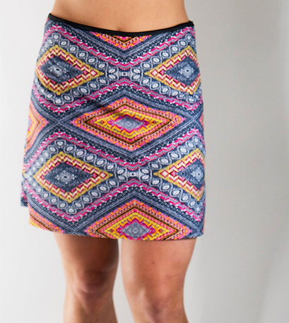 Sports Skirt-Diamonds