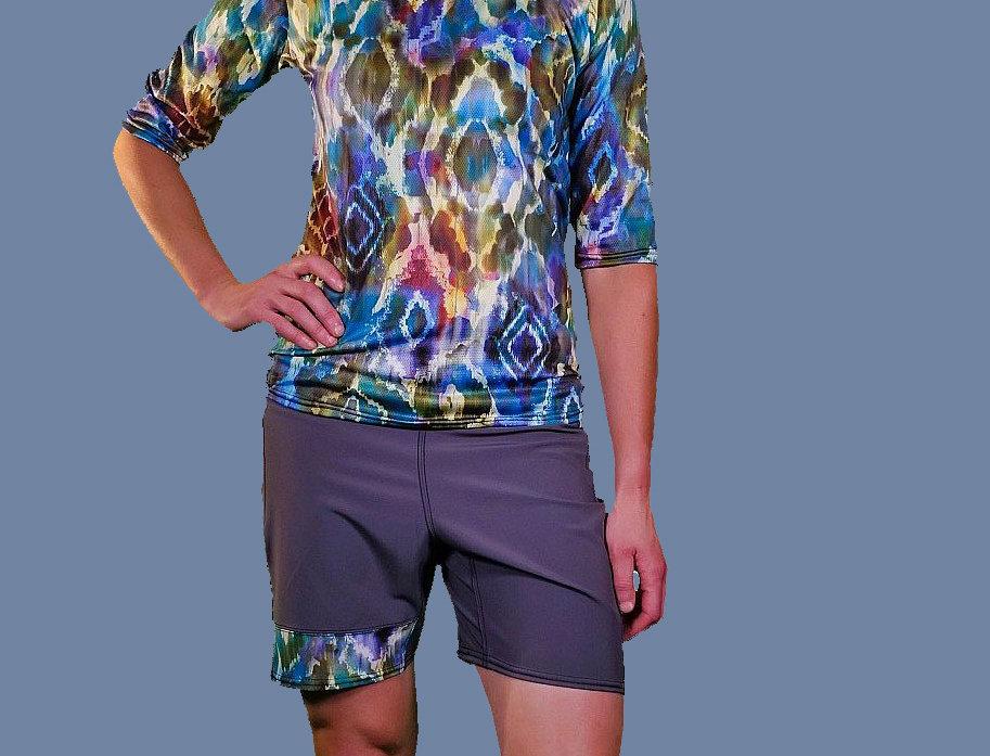 Grey Groove Mtb Shorts Short