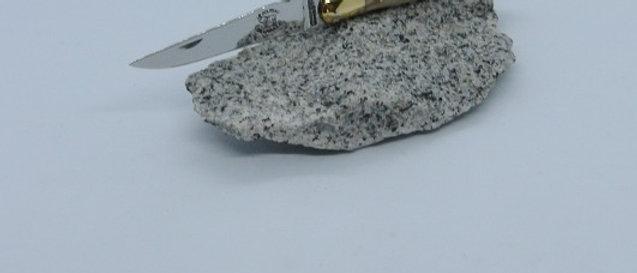 Couteau 2 pièces 11 cm - pointe de corne