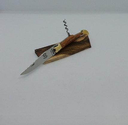 Couteau 2 pièces 12cm - bois massif