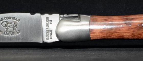 Couteau 2 pièces - bois massif - inox