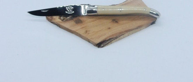 Couteau 11cm - inox et tissu compressé