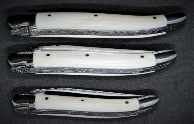 Couteau 1 pièce - os