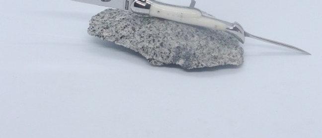 Couteau 3 pièces 12 cm- inox et OS