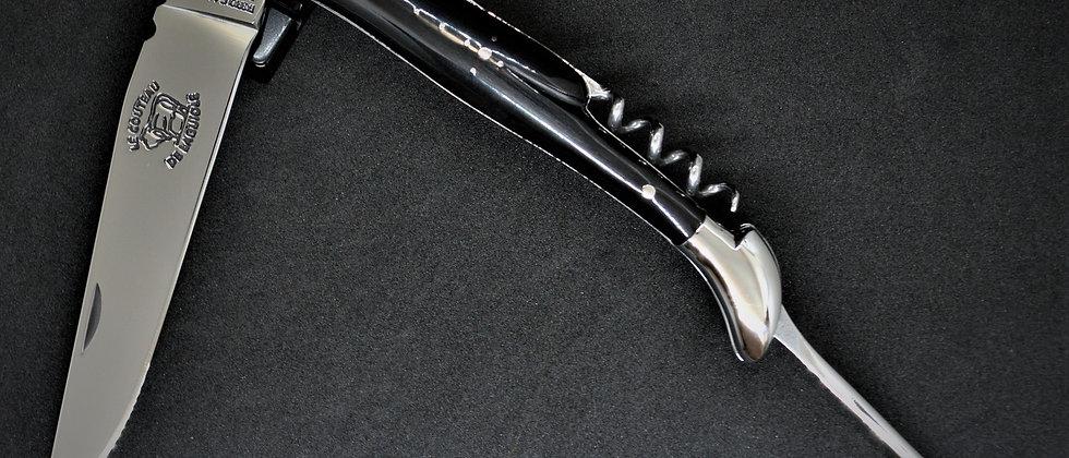 Couteau 3 pièces - Pointe de corne - inox