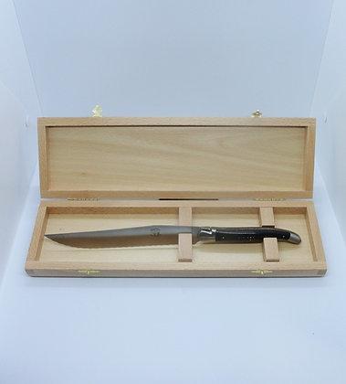 Couteau à pain - inox et bois massif