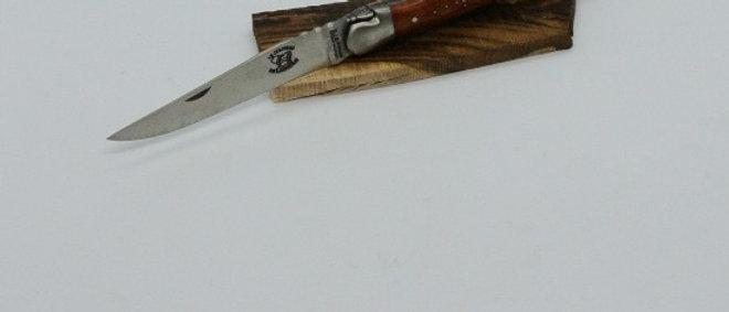 Couteau 3 pièces 12 cm - inox satiné et bois massif