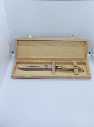 Couteau à découper - pointe de corne