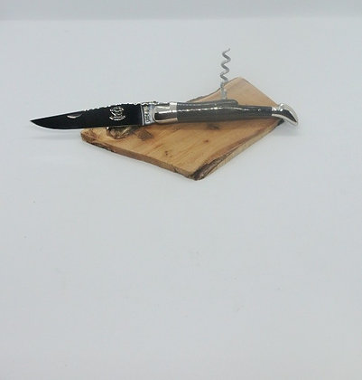Couteau 2 pièces 12cm -inox et tissu compressé