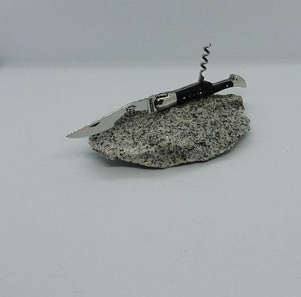 Couteau 2 pièces 11cm - inox et pointe de corne