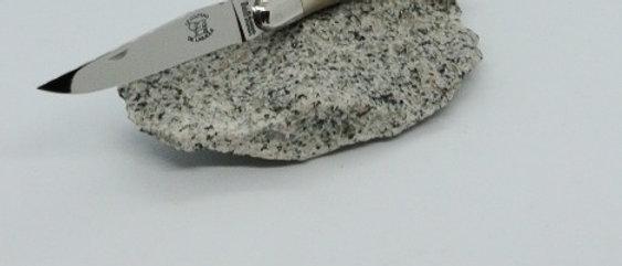Couteau 2 pièces 12cm - inox et pointe de corne