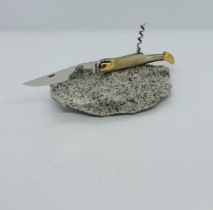 Couteau 2 pièces 12 cm - pointe de corne
