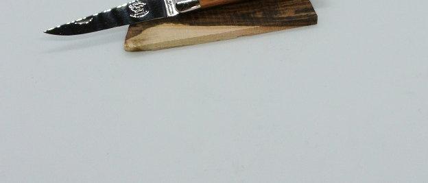 Couteau 11 cm - Inox Brillant - Bois Massif