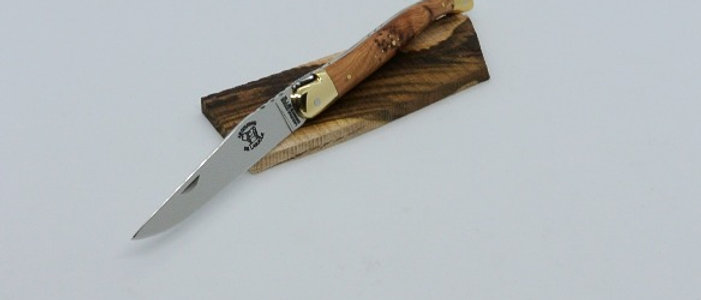 Couteau 12 cm - bois massif