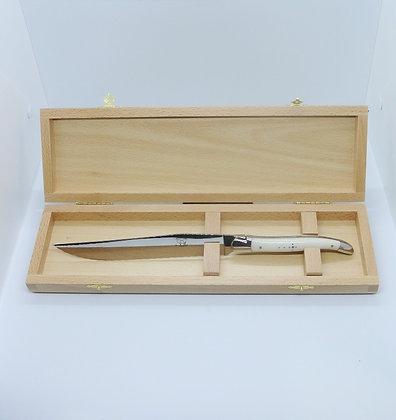 Couteau à pain - Inox et Os