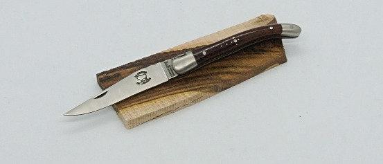 Couteau 9 cm - Inox Satiné - Bois Massif