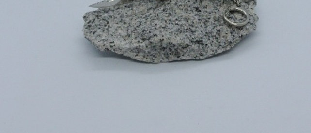 Couteau 7 cm porte clé - pointe de corne