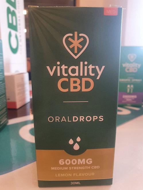 600mg vitality drops lemon