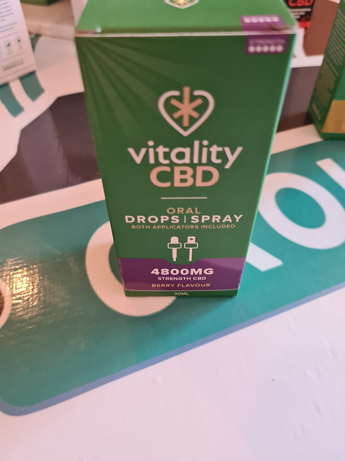 4800mg vitality drops berry