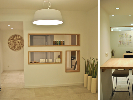 Locations de cabinets meublés, lumineux et équipés