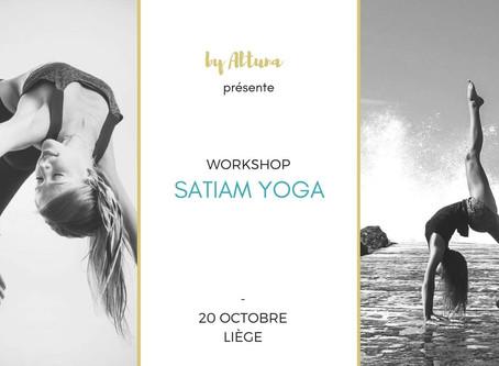 Workshop Satiam Yoga à Liège