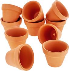 Mini terracota pots