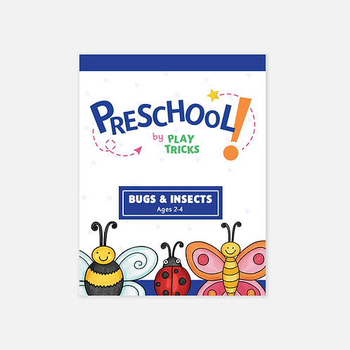 """Preschool- """"Bugs & Insects"""""""