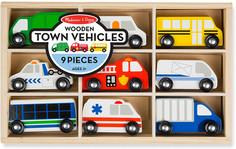 Wooden vehicles
