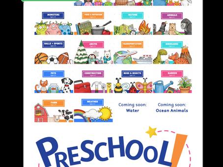 Preschool Play Tricks: At-home preschool program
