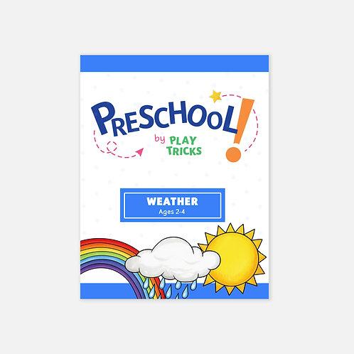 """Preschool- """"Weather"""""""