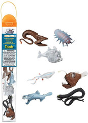 Deep sea creatures figurines