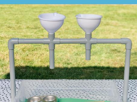 DIY Sensory Funnel System