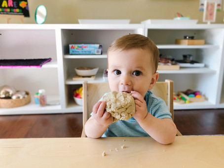 Edible Baby Play Dough