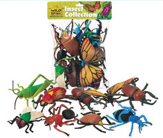 Insect figurines (large)