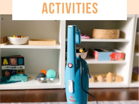 Practical Life: Vacuum