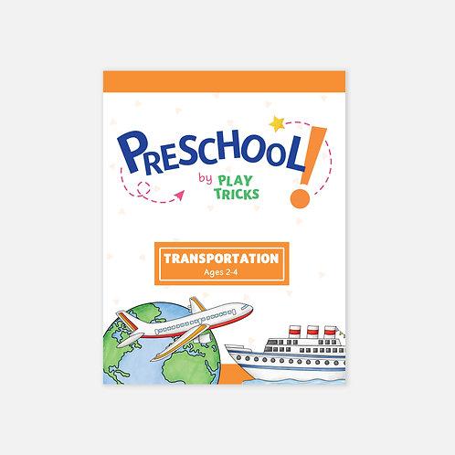 """Preschool- """"Transportation"""""""