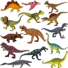Large dinosaur figurines