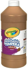 Brown washable paint