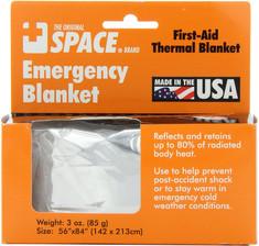 Foil emergency blanket