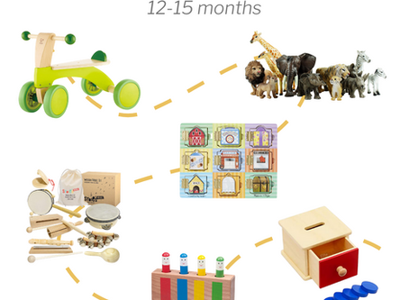 Best Toddler Toys: 12-15 months