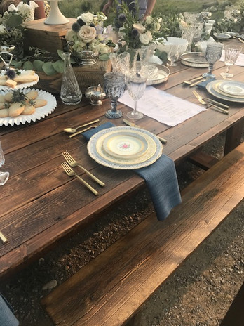 Rustic Class Table