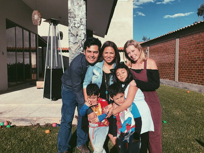 Kizzy's host family