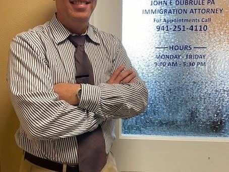 César Juarbe Velázquez joins our staff