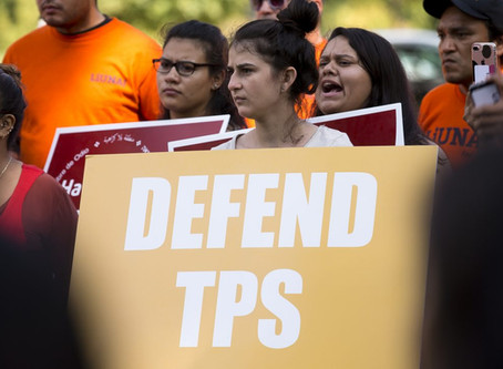 Salvadorans and Haitians Can Now Re-Register for TPS